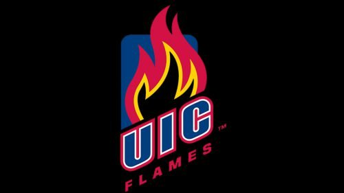 Illinois-Chicago Flames basketball logo