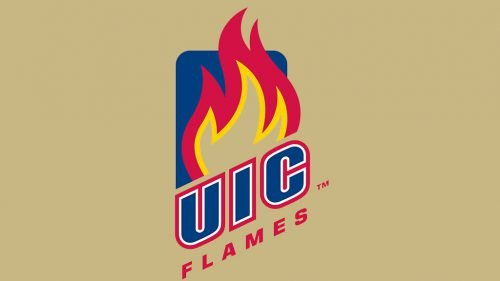 Illinois-Chicago Flames soccer logo