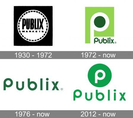 Publix Logo history