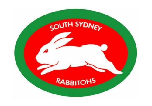 South Sydney Rabbitohs Logo 1988