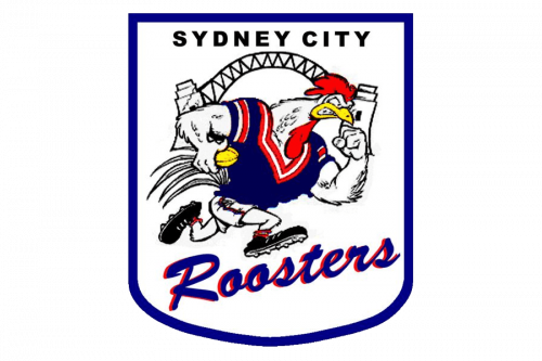 Sydney Roosters Logo 1995