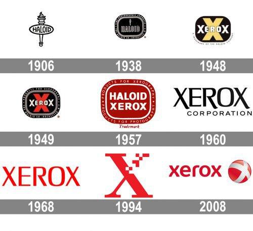 Xerox logo history