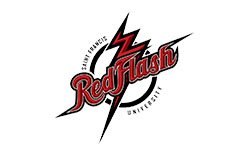 Saint Francis Red Flash Logo