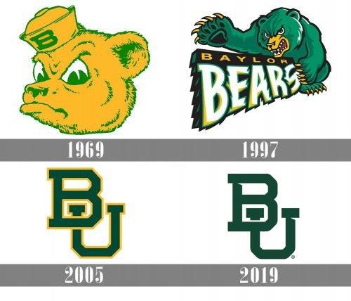 Baylor Bears logo history