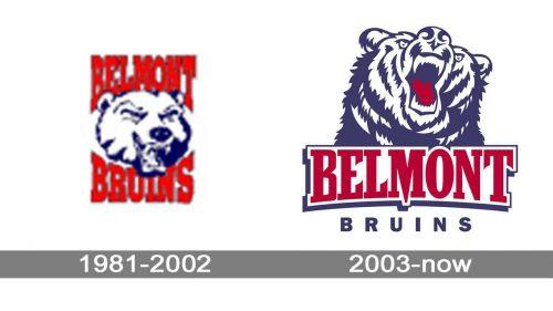 Belmont Bruins Logo history