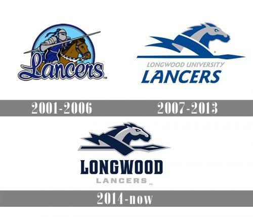 Longwood Lancers logo history