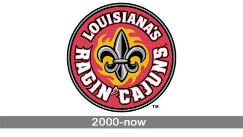 Louisiana Ragin' Cajuns logo history