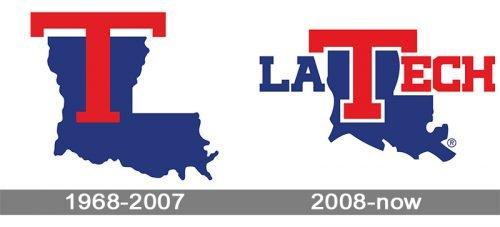 Louisiana Tech Bulldogs logo history
