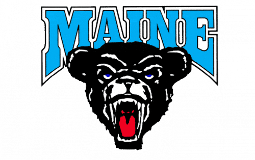 Maine Black Bears Logo-1980