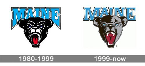 Maine Black Bears logo history
