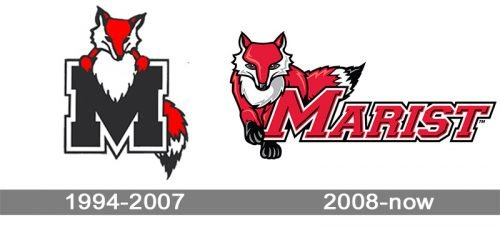 Marist Red Foxes logo history