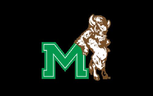 Marshall Thundering Herd Logo-1985