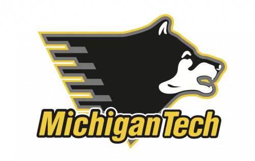 Michigan Tech Huskies Logo-2005