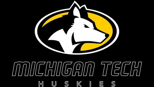Michigan Tech Huskies football logo