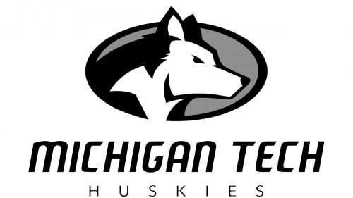 Michigan Tech Huskies ice hockey logo