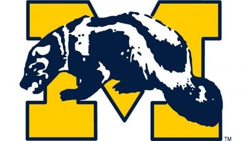 Michigan Wolverines Logo 1964