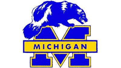 Michigan Wolverines Logo 1978