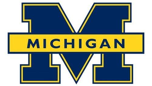 Michigan Wolverines Logo 1996