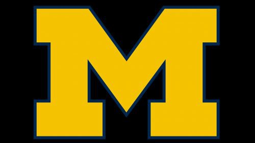 Michigan Wolverines baseball logo