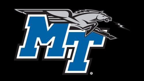 Middle Tennessee Blue Raiders basketball logo