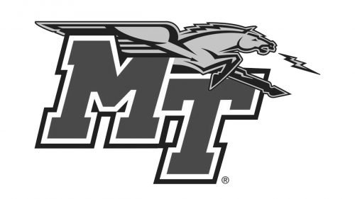 Middle Tennessee Blue Raiders football logo