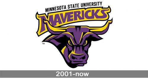 Minnesota State Mavericks Logo history
