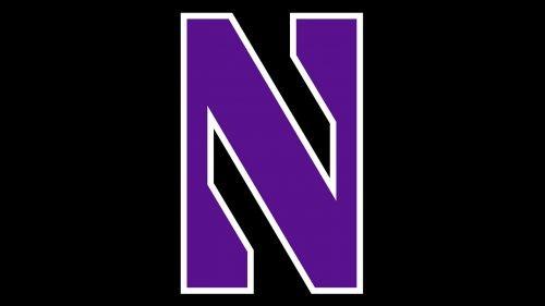 Northwestern Wildcats basketball logo