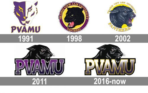 Prairie View A&M Panthers logo history