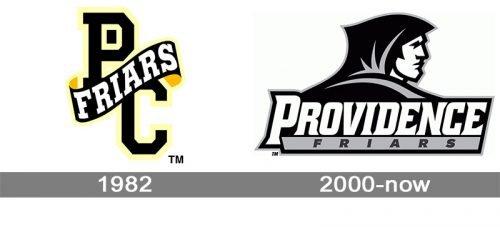 Providence Friars logo history