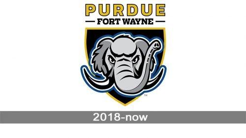 Purdue Fort Wayne Mastodons logo history