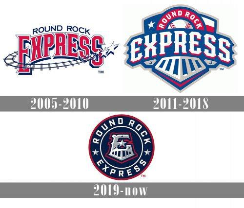 Round Rock Express Logo history