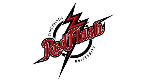 Saint Francis Red Flash Logo