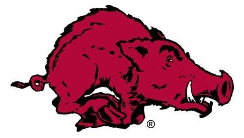 Arkansas Razorbacks Logo 1955