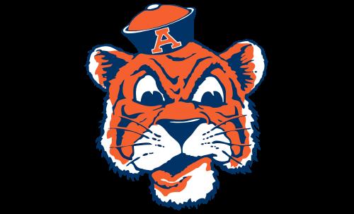 Auburn Tigers Logo-1957