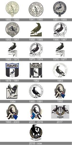 Collingwood Logo history