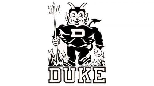 Duke Blue Devils Logo 1955