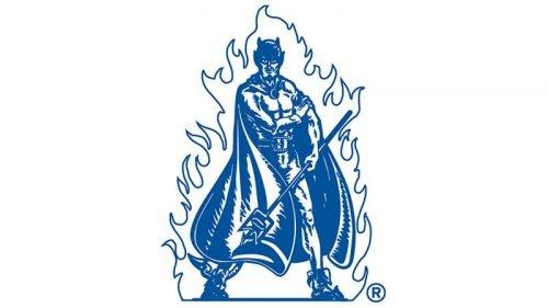 Duke Blue Devils Logo 1971