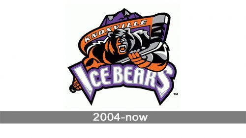 Knoxville Ice Bears Logo history