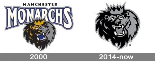 Manchester Monarchs Logo history