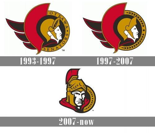 Ottawa Senators Logo history