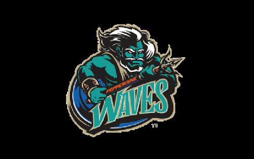 Pepperdine Waves Logo-1998