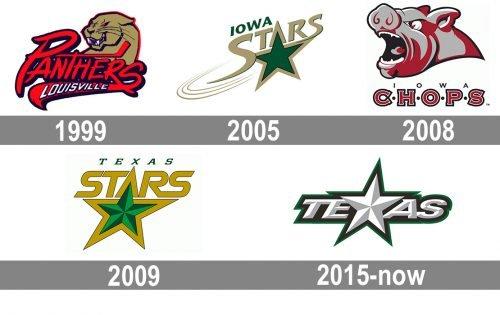 Texas Stars Logo history