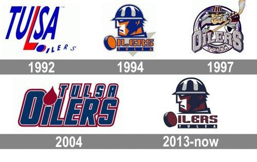 Tulsa Oilers Logo history