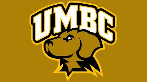 UMBC Retrievers baseball logo
