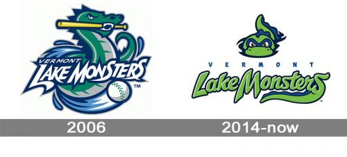 Vermont Lake Monsters Logo history