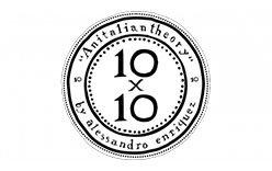 10×10 An Italian Theory Logo