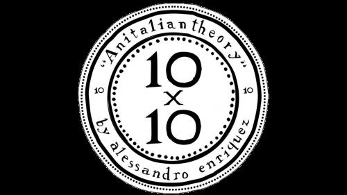 10x10 An Italian Theory Logo