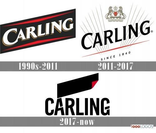 Carling Logo history