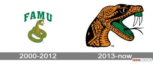 Florida A&M Rattlers logo history