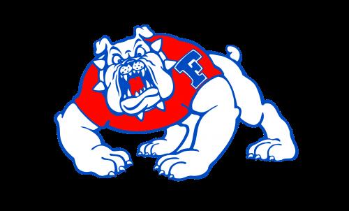 Fresno State Bulldogs Logo-1992